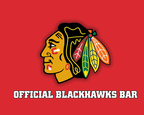 Official CHICAGO BLACKHAWKS Bar!